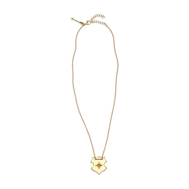 KASSIDY SHIELD necklace [gold]