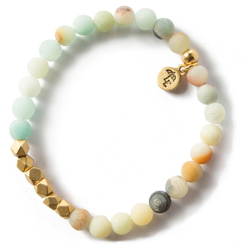 Gemstone Bracelet 6mm [amazonite]