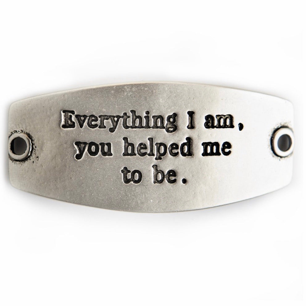 Everything i am... sentiment [antique silver]