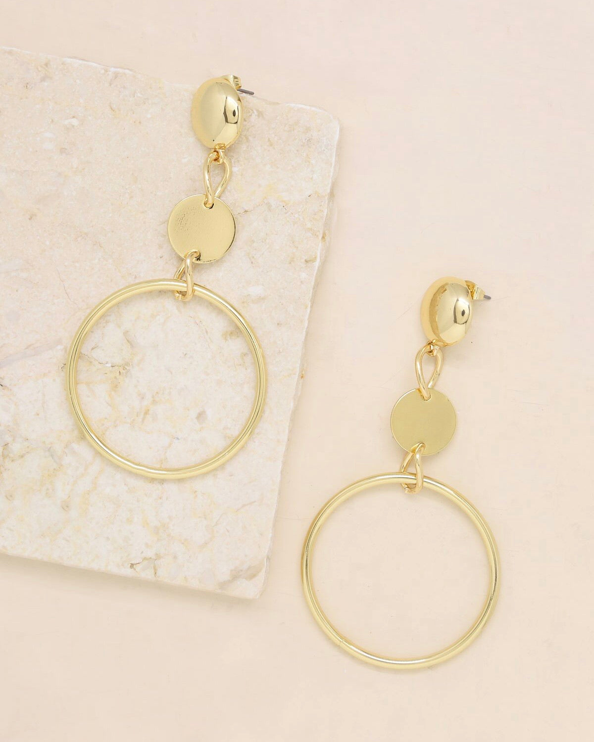IN THE CROWD earrings [gold]