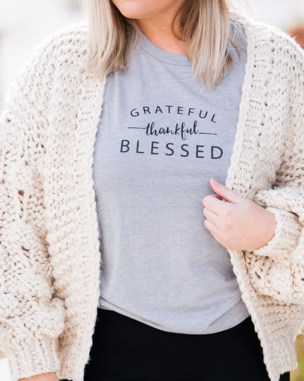 Grateful Tee [Grey] Graphic Tees Urban Escape
