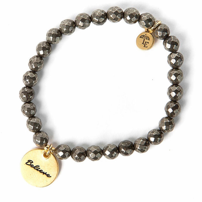 Token Stretch Bracelet [believe]