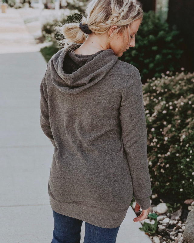 SIMPLY SPICER TUNIC HOODIE [charcoal]