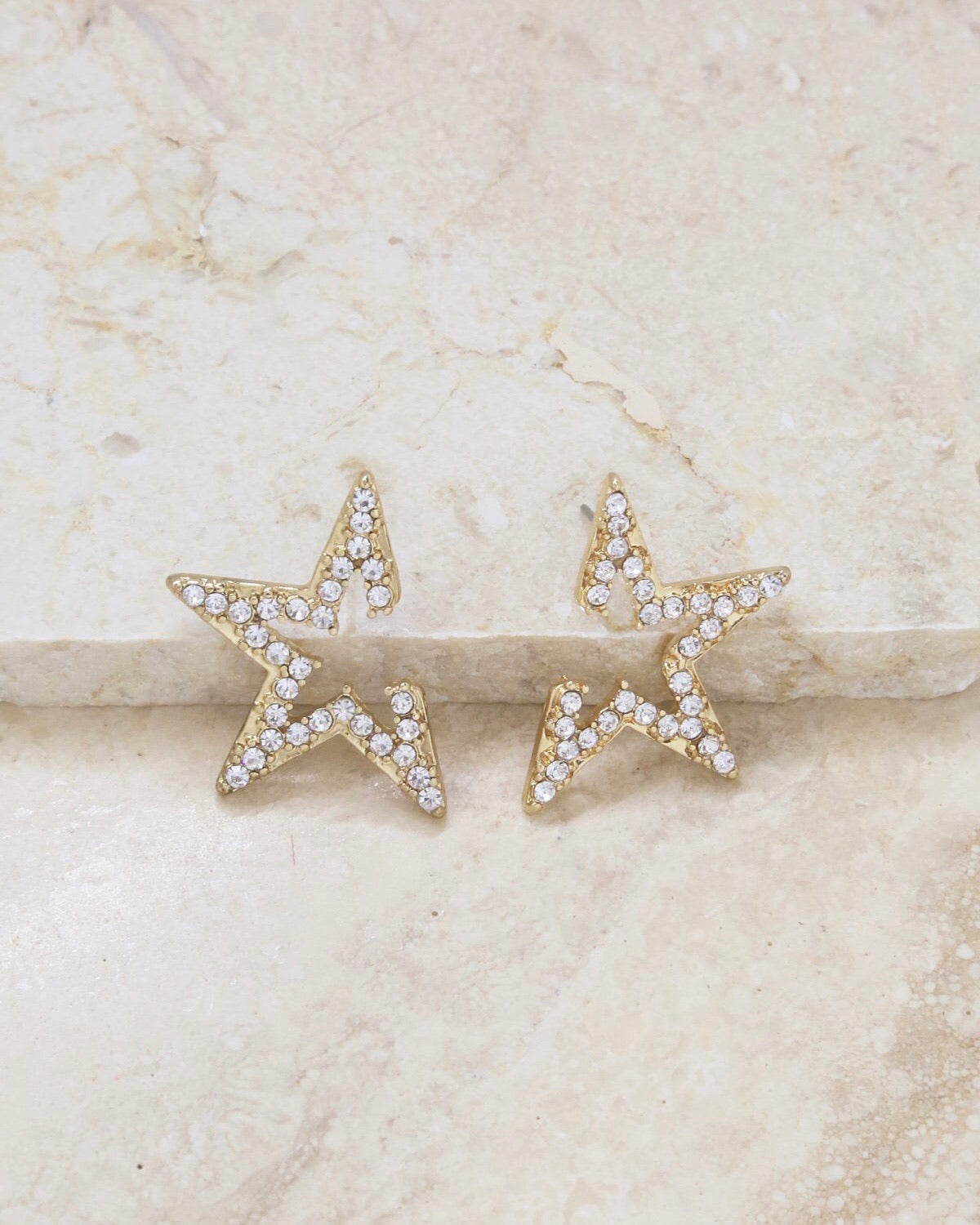 STAR LIGHT EARRINGS [gold]
