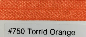 15mm Wide FOE #750 Torrid Orange