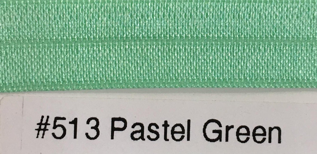 15mm Wide FOE #513 Pastel Green