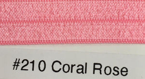 15mm Wide FOE #210 Coral Rose