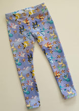 Load image into Gallery viewer, 'Little Critters' Fox Purple Cotton Lycra 180gsm