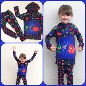 OUT OF STOCK Pyjama Heroes Heroes Main Cotton Lycra 240gsm 50cm