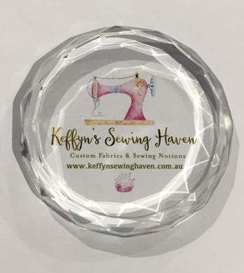 Keffyn Sewing Haven Paper Weight