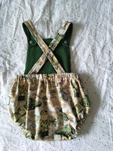 Load image into Gallery viewer, Solid Cotton Lycra 'Army Green' 50cm