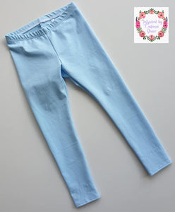 Solid Cotton Lycra 'Baby Blue' 50cm