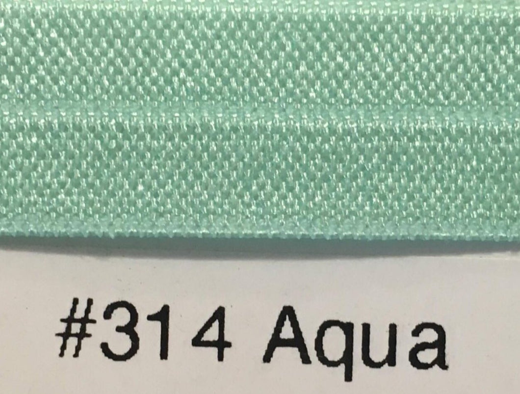 15mm Wide FOE #314 Aqua
