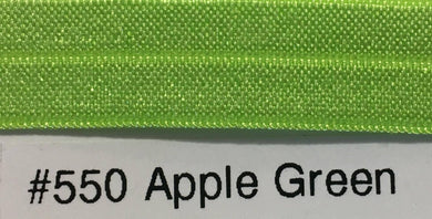 15mm Wide FOE #550 Apple Green