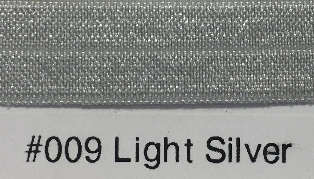 15mm Wide FOE #009 Light Silver