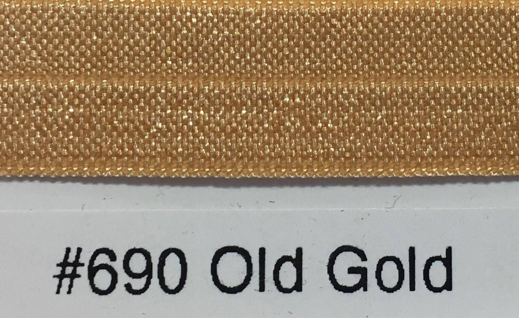 15mm Wide FOE #690 Old Gold
