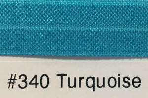 15mm Wide FOE #340 Turquoise