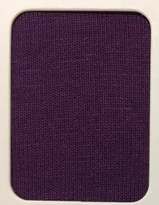 OEKO-TEX Solid Cotton Lycra - Eggplant