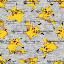 Load image into Gallery viewer, 'Little Critters' Yellow Dude Grey Swim 50cm