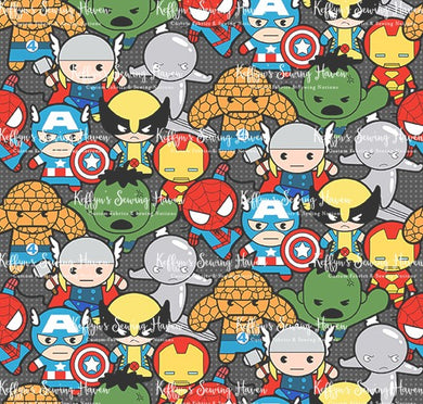 Heroes Cotton Woven 50cm