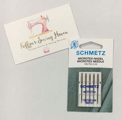 Schmetz Microtex Needle - 80/12
