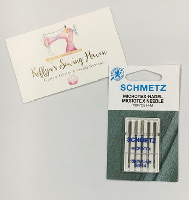 Schmetz Microtex Needle - 90/14