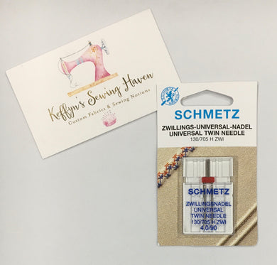 Schmetz Universal Twin Needle - 4.0mm 90/14