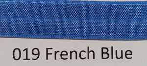 15mm Wide FOE #019 French Blue