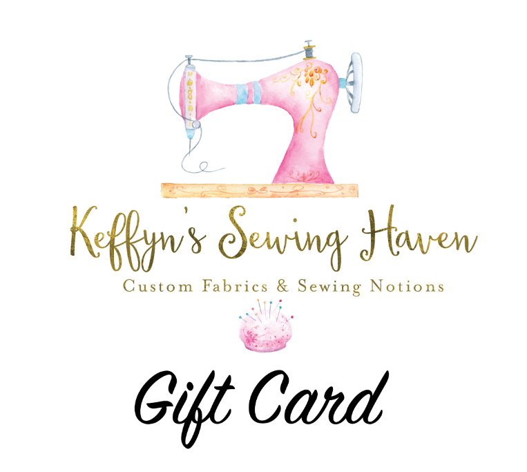 Keffyn Sewing Haven Gift Card