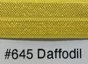 15mm Wide FOE #645 Daffodil