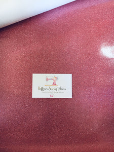 Glitter Vinyl Fabric - #16 Light Pink