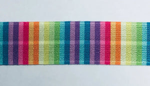 25mm Wide FOE Rainbow Stripes