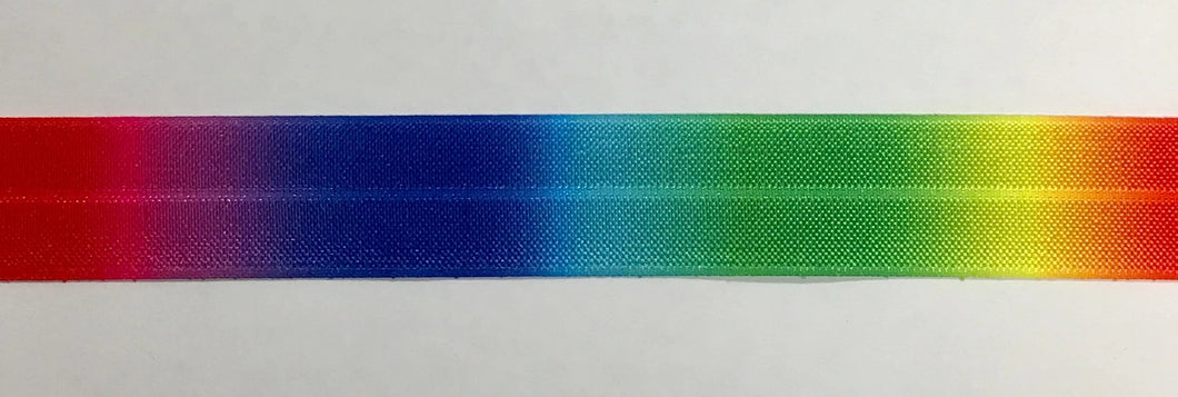 25mm Wide FOE Rainbow Ombre