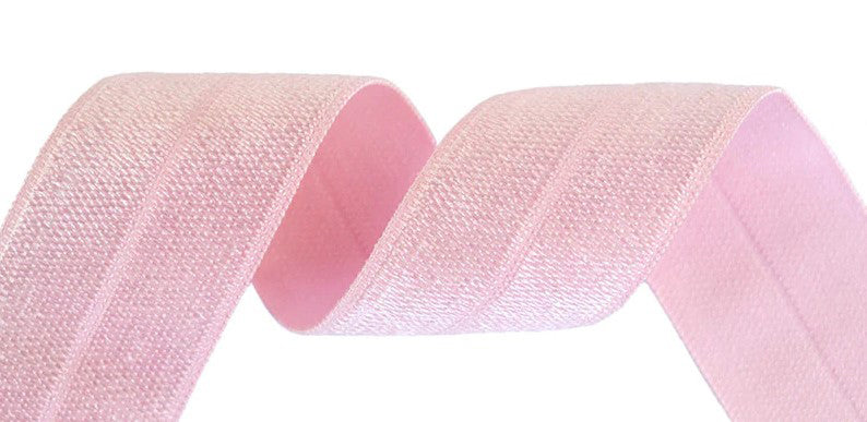 25mm Wide Solid FOE Rose Pink