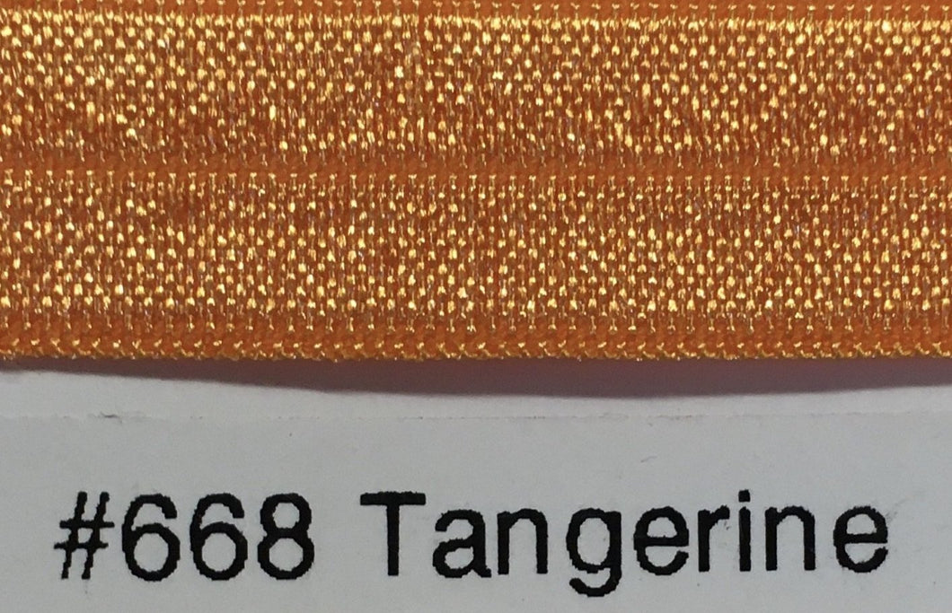 15mm Wide FOE #668 Tangerine