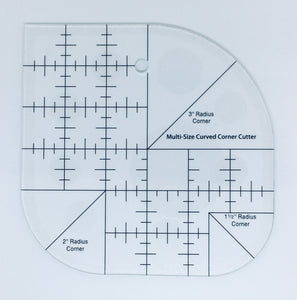 Curved Corner Cutter Ruler