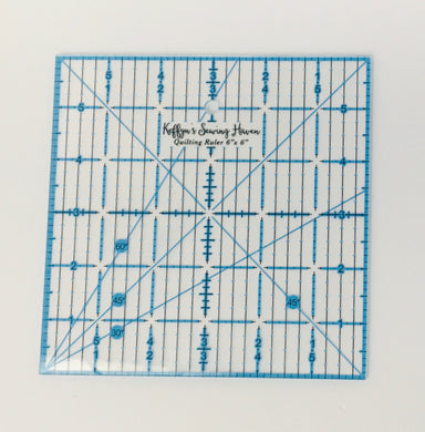 Quilting Ruler 6x6 Inches