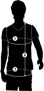 Sizing Diagram for Hurtta Agility and Obedience Vest