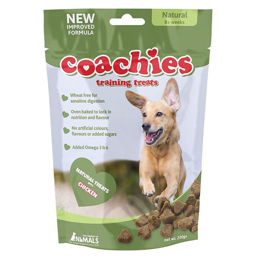 Coachies Dog Training Treats (Naturals - Chicken)