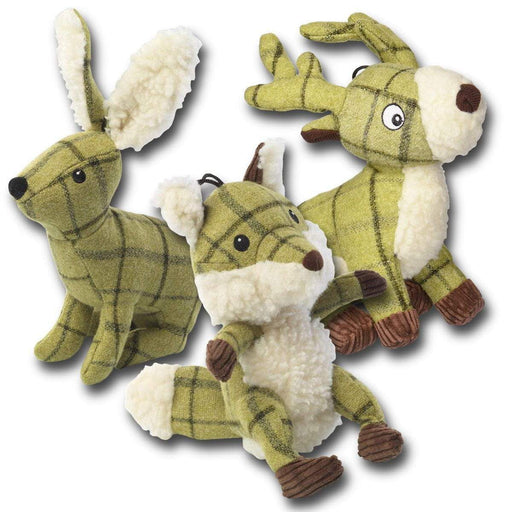 House of Paws Tweed Plush Toys
