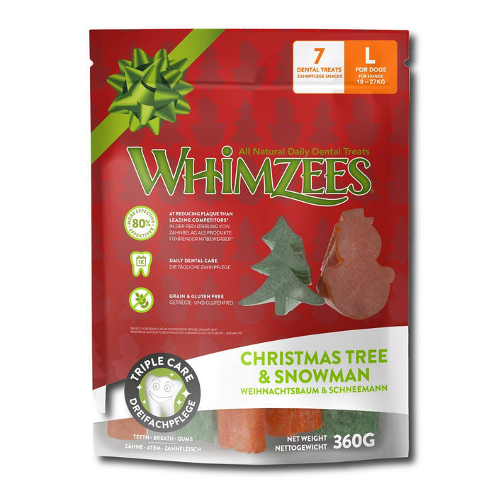 Whimzees Christmas Treats