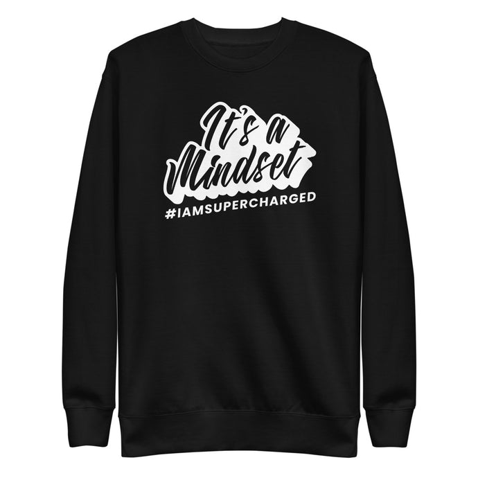It's a Mindset Fleece Pullover