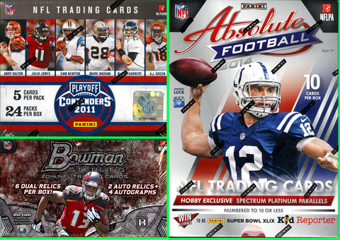 NFL 3-box Mixer - Random Teams