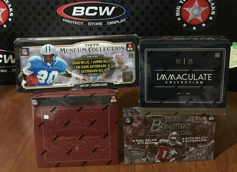 NFL 4-Box Mixer - Random Teams