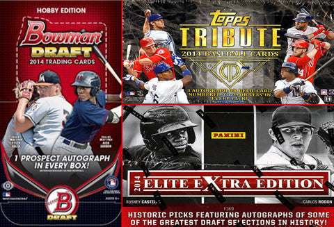 2014 MLB 3-box MIXER - Random Teams