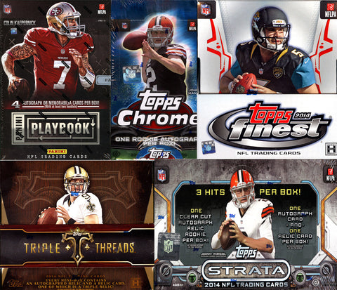 NFL 5-box Mixer - 2 Random Teams