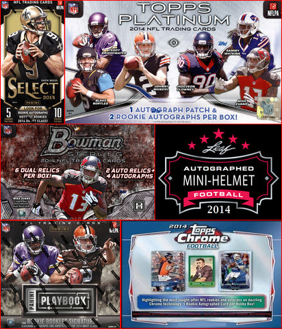 2014 NFL 6-box Mixer - Random Teams