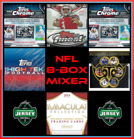 12/22/15 NFL 8-box Mixer - Random Teams