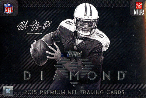 LIVE at NATIONAL - #1 2015 Topps Diamond FB 6-box Case Break - Pick Your Team (TITANS RANDOIMIZED TO SPOT IN BREAK)