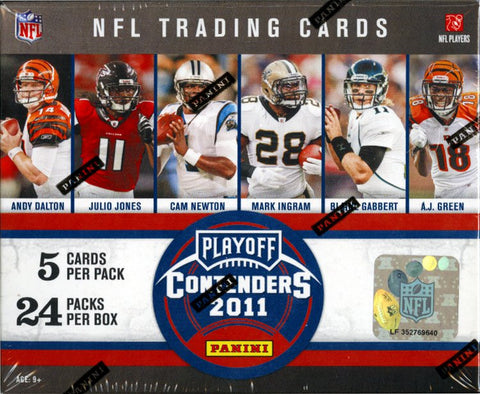 2011 Playoff Contenders Football 1-box Break - Random Divisions